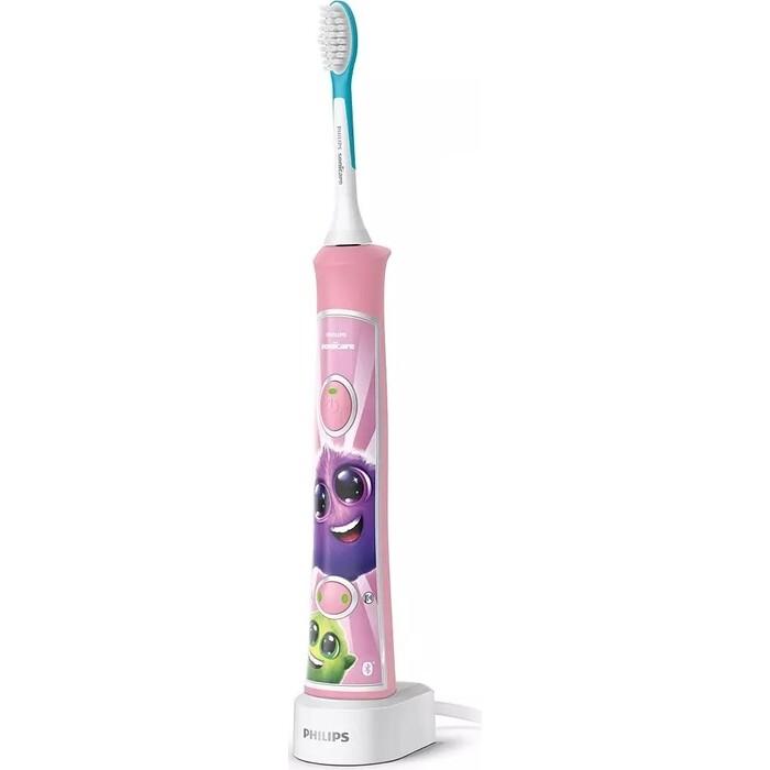 Зубная щетка электрическая Philips Sonicare For Kids HX6352/42 розовый