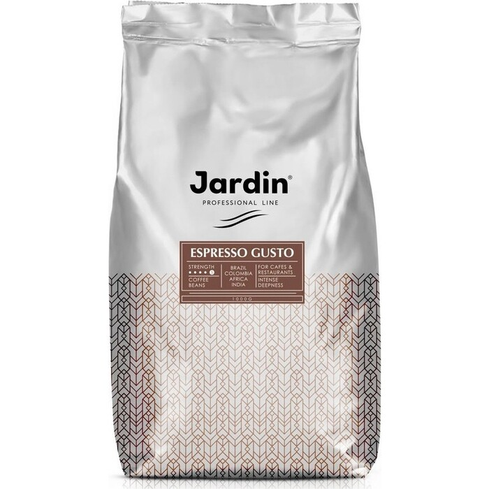 Кофе в зернах JARDIN Espresso Gusto 1000г.