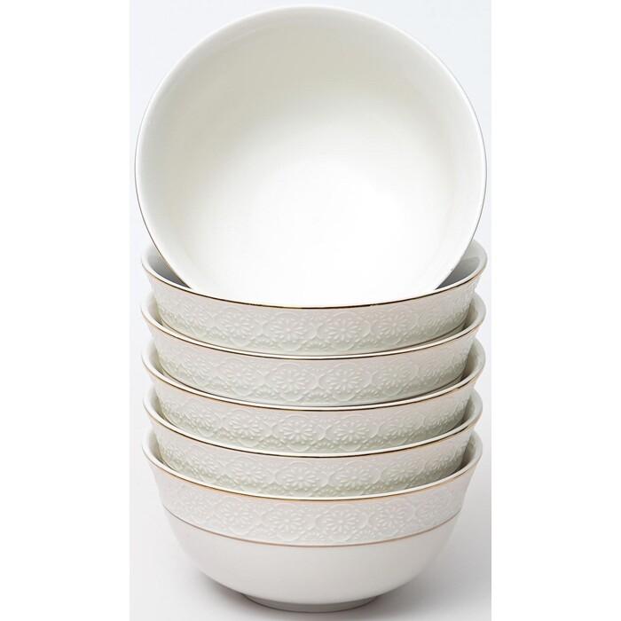 Набор салатников 6 предметов Balsford грация астерия 350мл 130мм (101-01081) набор чайный 220мл грация 13 предметов 101 30007 balsford
