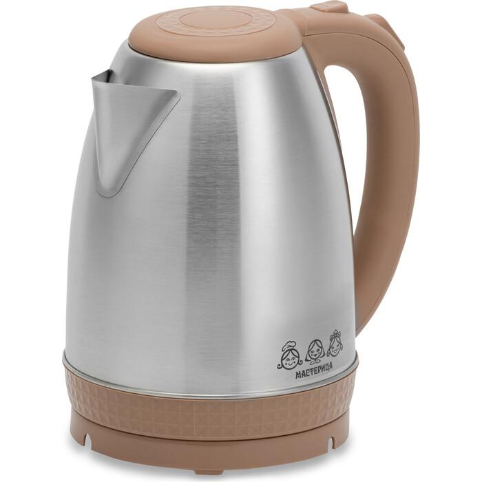 Чайник электрический Мастерица EK-1801M капучино