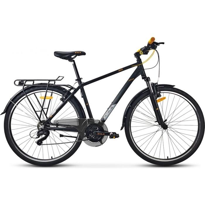 велосипед stels navigator 800 lady 28 v010 17 синий Велосипед Stels Navigator-800 Gent 28 V010 19 Чёрный