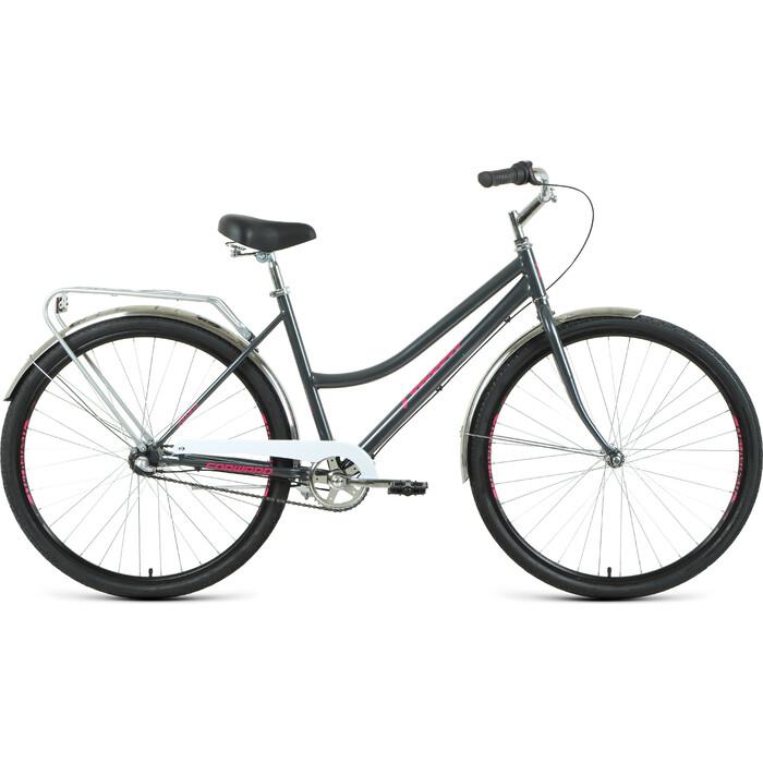 Велосипед Forward Talica 3.0 28 (2020) 19 темный/серый/розовый