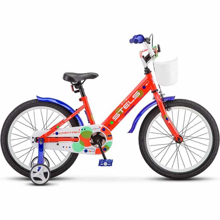 Велосипед Stels Captain 18 V010 неоновый-красный