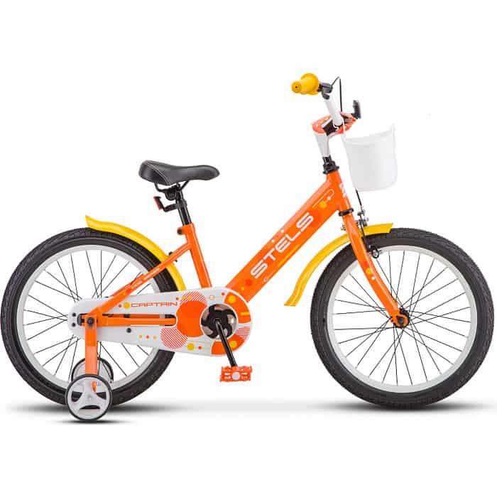 Велосипед Stels Captain 18 V010 оранжевый