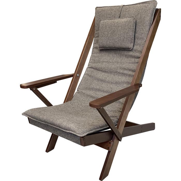 Кресло-шезлонг Вилора Тон №2 рогожка К066-4