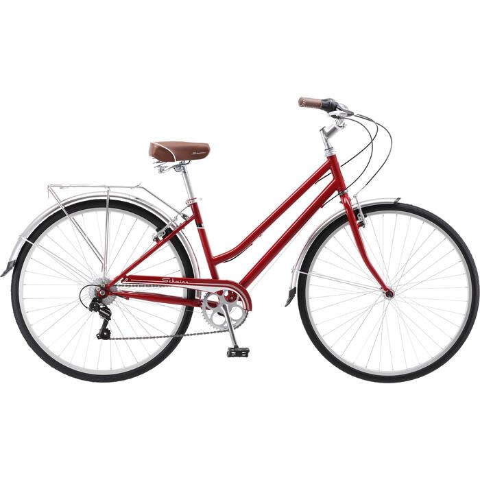 Велосипед Schwinn Wayfarer Women dark red