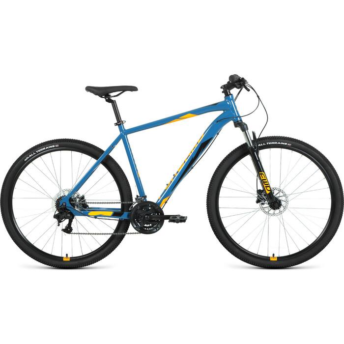 Велосипед Forward Apache 3.2 Disc 29 21 бирюзовый/оранжевый