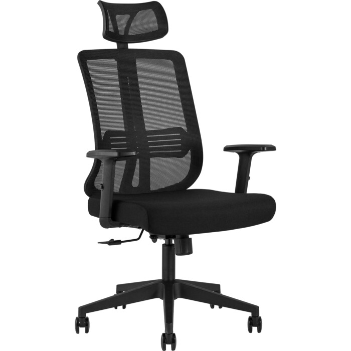 Кресло руководителя TopChairs Post черное