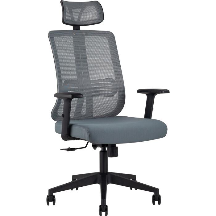 Кресло руководителя TopChairs Post серое