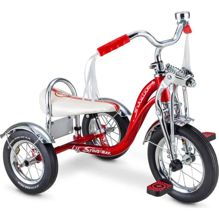 Трехколесный велосипед Schwinn Lil Sting-Ray 12 красный