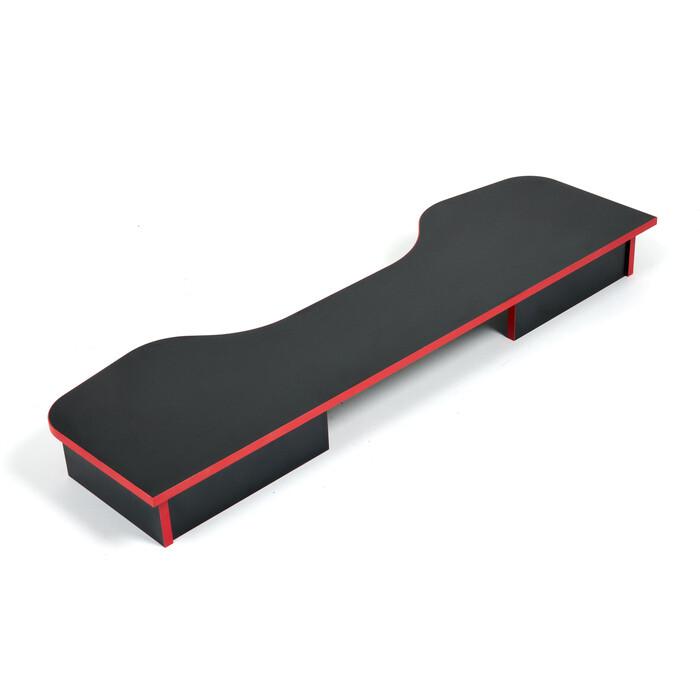 Надстройка TetChair StrikeTop (120) neo black/red черный/красная кромка
