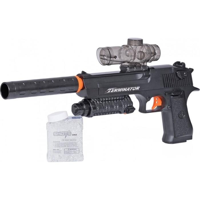 Пистолет с гелевыми пулями Le Neng Toys (аккумулятор, чемодан) - D1A-1