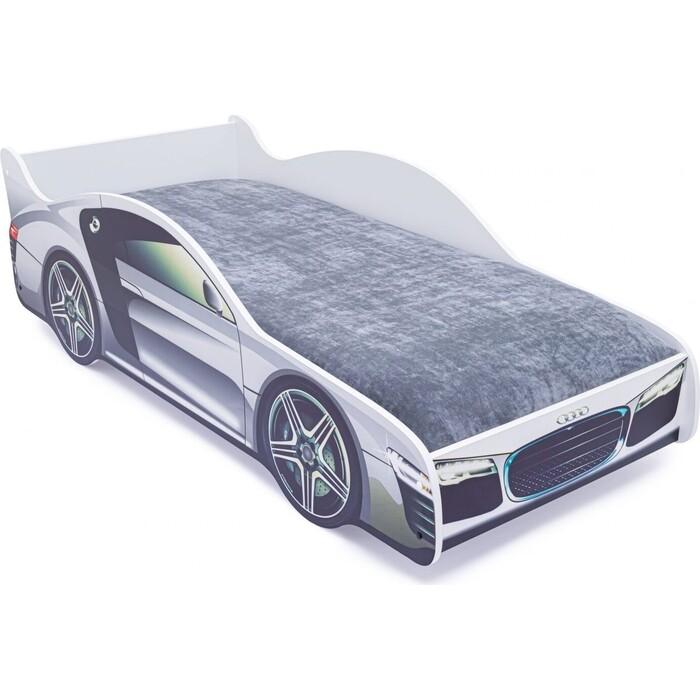 Детская кровать-машина Бельмарко Ауди с подъемным механизмом кр кн раскр с накл ауди isbn 9785378007400