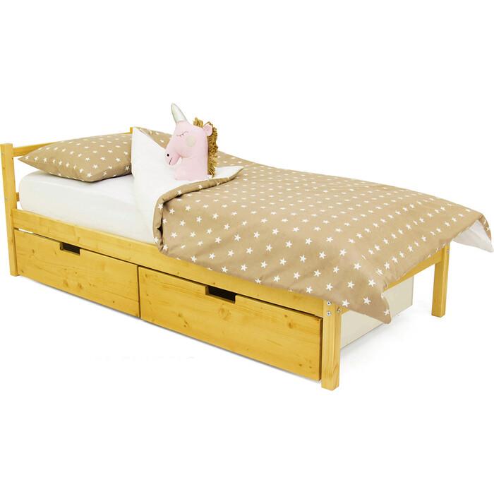 Детская кровать Бельмарко Svogen classic дерево + ящики 2 шт