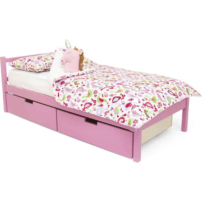 Детская кровать Бельмарко Svogen classic лаванда + ящики 2 шт
