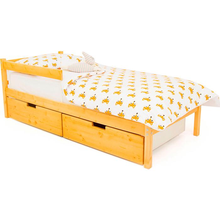 Детская кровать Бельмарко Svogen classic дерево + ящики 2 шт бортик ограждение