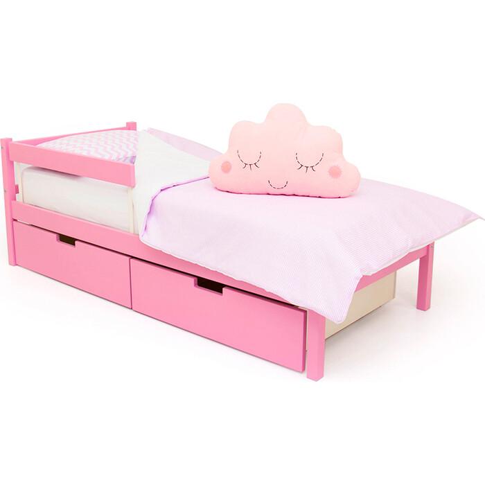 Детская кровать Бельмарко Svogen classic лаванда + ящики 2 шт бортик ограждение