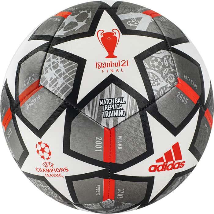 tim lahaye die ernte finale 4 Мяч футбольный Adidas Finale Training арт. GK3476, р.4, 12п, ТПУ, маш.сш, серебристо-белый