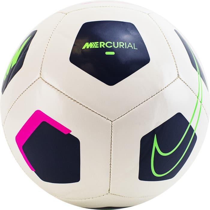 Фото - Мяч футбольный Nike Mercurial Fade арт. DD0002-094, р.5, 26п, гл.ТПУ, маш.сш, бут.кам, бело-черный мяч футбольный nike strike арт sc3639 105 р 5