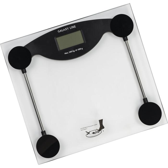 Весы напольные GALAXY GL 4810 черный