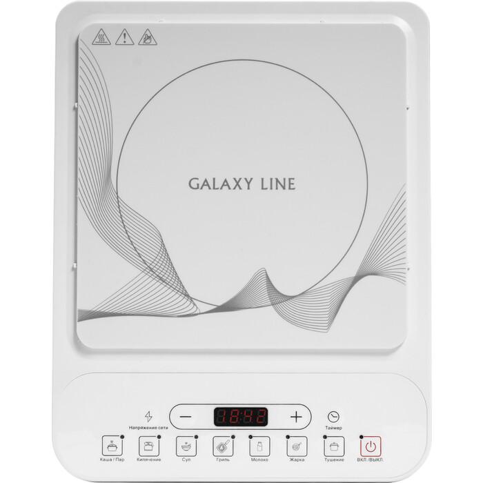 Настольная плита GALAXY GL 3060 белая