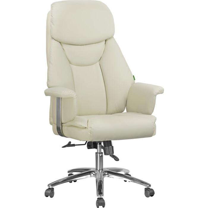 Кресло Riva Chair RCH 9501 натуральная кожа кремовый