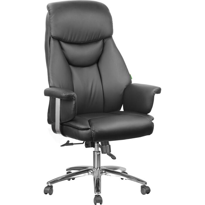 Кресло Riva Chair RCH 9501 натуральная кожа черный