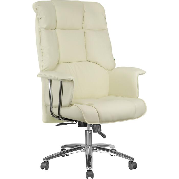 Кресло Riva Chair RCH 9502 натуральная кожа кремовый