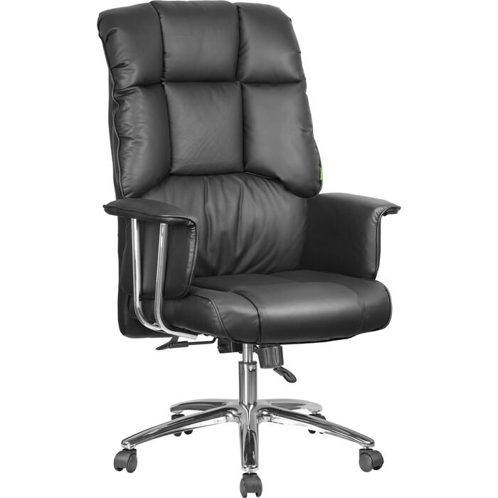 Кресло Riva Chair RCH 9502 натуральная кожа черный