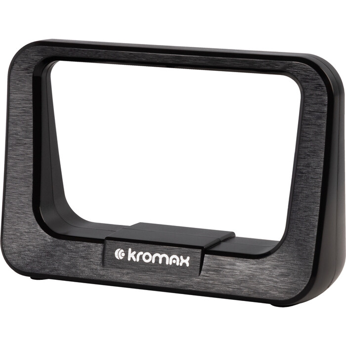 Фото - Комнатная телевизионная антенна Kromax FLAT-10 black комнатная антенна kromax flat 02 black