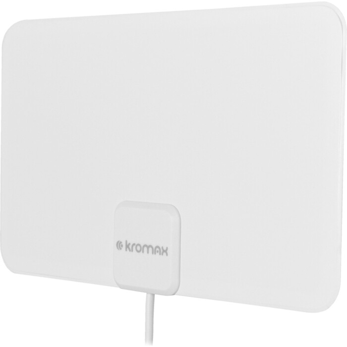 Фото - Комнатная телевизионная антенна Kromax FLAT-12w white комнатная антенна kromax flat 02 black