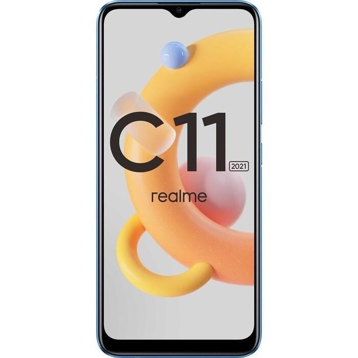 kootion 2gb Смартфон Realme C11 2021 32Gb 2Gb синий