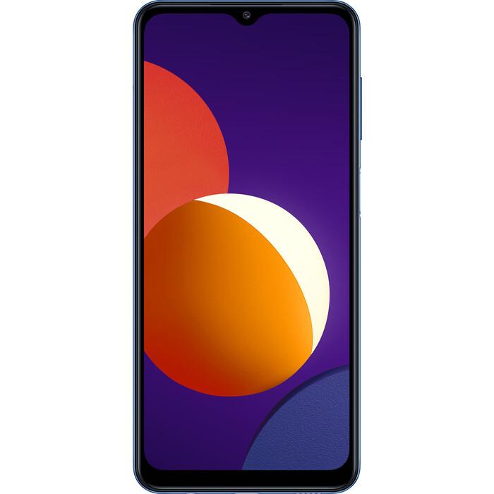 Смартфон Samsung SM-M127F Galaxy M12 32Gb 3Gb синий сотовый телефон samsung sm m127f galaxy m12 3 32gb light blue