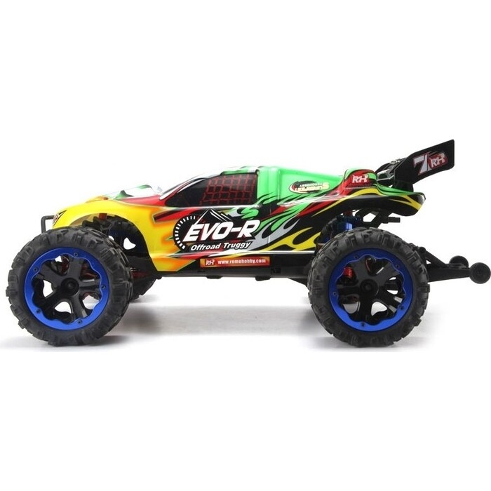 1 8 vrx 2e 4wd brushless ready to run buggy Радиоуправляемая трагги Remo Hobby Truggy Brushless 4WD RTR масштаб 1:8 2.4G - RH8065-Blue
