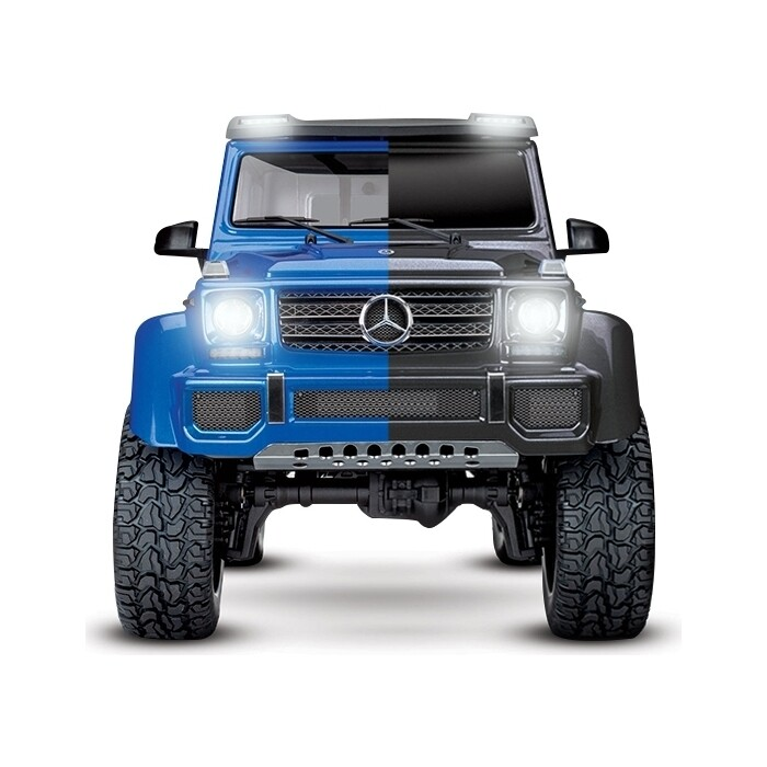 Радиоуправляемый краулер TRAXXAS TRX-4 Mercedes G 500 Scale and Trail Crawler COMBO 4WD RTR масштаб 1:10 2.4G - TRA82096-4-COMBO