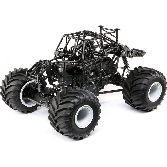 Радиоуправляемый монстр Losi Solid Axle Monster Truck Roller LMT 4WD KIT масштаб 1:10 - LOS04022