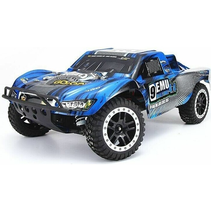 Радиоуправляемый шорт-корс трак Remo Hobby Truck 9emu 4WD RTR масштаб 1:8 2.4G - RH8025-BLUE радиоуправляемый краулер remo hobby trial rigs truck 4wd rtr масштаб 1 10 2 4g rh1093 st
