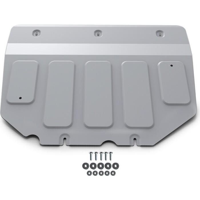 Защита картера и КПП Rival для Mazda 3 IV BP АКПП (2019-н.в.), штампованная, алюминий мм, с крепежом, 333.3827.1