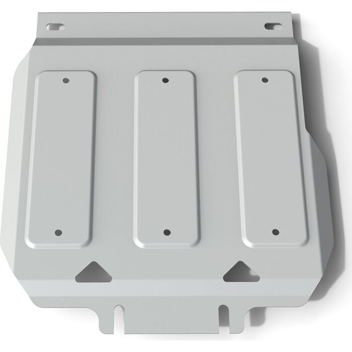 Защита картера Rival для Nissan Patrol Y62 (2010-2014 / 2014-н.в.), штампованная, алюминий 6 мм, с крепежом, 2333.4122.1.6