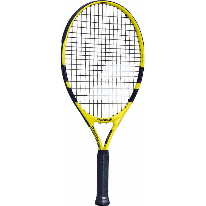Ракетка для большого тенниса Babolat Nadal 21 Gr000, арт. 140247, для 5-7 лет ракетка для большого тенниса babolat b fly 23 gr000 140244 детская 7 9 лет фиолет бирюзовый