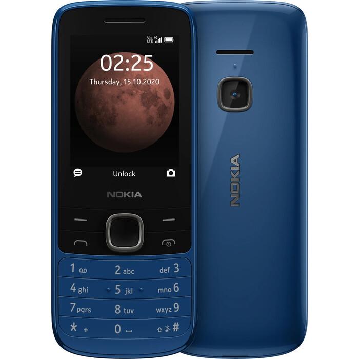 Мобильный телефон Nokia 225 4G DS Blue кнопочный телефон nokia 225 4g sand