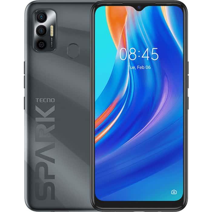 Смартфон TECNO Spark 7 (4+64) Magnet black