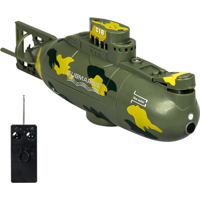 Радиоуправляемая подводная лодка Create Toys Green Nuclear Submarine 40 MHz - CT-3311M-GREEN