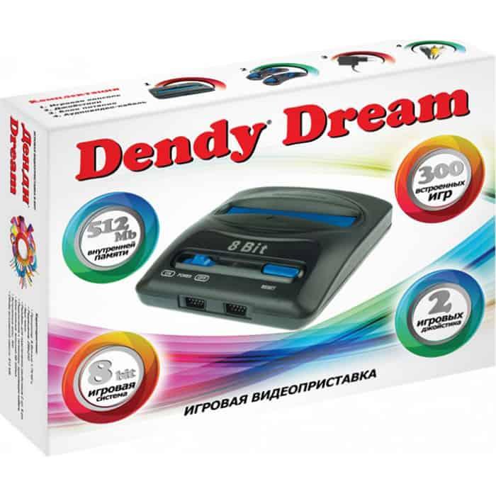 Фото - Игровая приставка Dendy Dream 300 игр игровая приставка dendy junior 300 игр световой пистолет