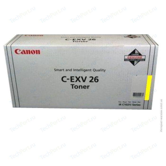 Kартридж Canon Тонер для iRC 1021i yellow (1657B006)