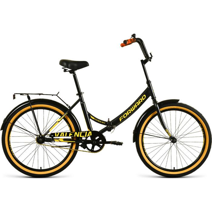 Велосипед Forward Valencia 24 X 16 черный/золотой