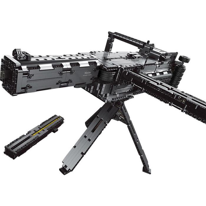 Конструктор Mould King Пулемет Максима