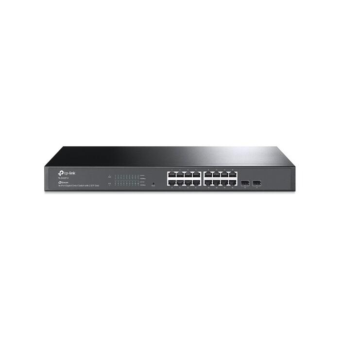 Коммутатор TP-Link Jetstream 16-port gigabit smart switch