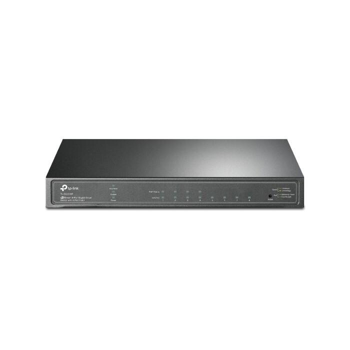 Коммутатор TP-Link 8-port Gigabit smart switch with 4 PoE+ portsVLAN function