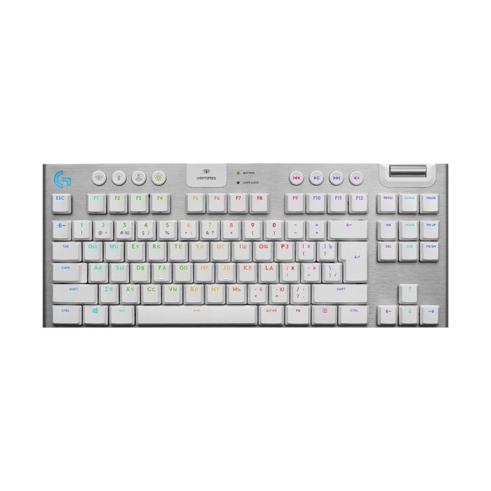 Клавиатура Logitech Keyboard G915 TKL WHITE